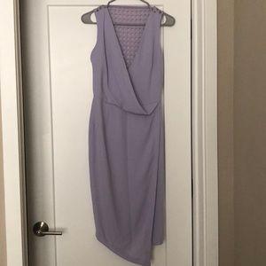 Midi Lavender Asos dress